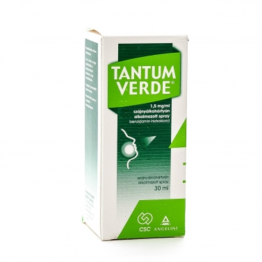 TANTUM VERDE 1,5MG/ML SZAJNY.AL.SPRAY 1X30ML