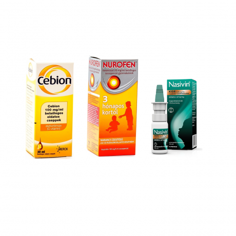 FOR KIDS COLD AND FLU PACKAGE( 1-6 YEARS OLD )
