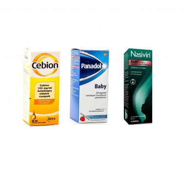 BABY - COLD AND FLU PACKAGE (0-1 YERS OLD)